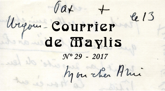 Courrier de Maylis 29, 2017